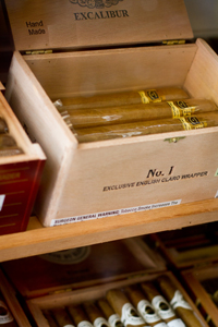Distinctive cigars